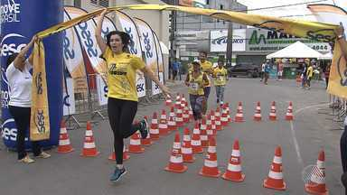 Circuito Sesc de Corrida reúne multidão em Santo Antônio de Jesus - Veja como foi a corrida.