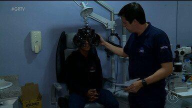 Hospital oftamológico promove mutirão de atendimentos, em Petrolina - Para obter uma consulta, era necessária levar apenas pacotes de alimentos não-perecíveis para doação.