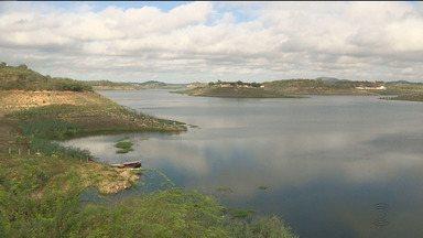 Açude de Boqueirão saiu do volume morto nesta segunda-feira (21) - O reservatório chegou aos 8,2% da capacidade e está com quase 34 milhões de m³ de água.