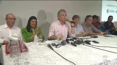 Ricardo Coutinho fala sobre o fim do racionamento em Campina Grande - Governador antecipa fim do racionamento para a próxima sexta-feira (21).