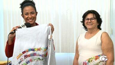Bordadeiras de Penedo participam de feira internacional em São Paulo - Presidente da Associação das Bordadeiras, Francisca Lessa, fala sobre a oportunidade das profissionais de mostrar o trabalho alagoano.