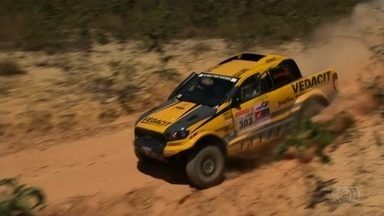 Primeira etapa do Rally do Sertões é marcada por muita adrenalina - Evento teve largada em Goiânia no fim de semana