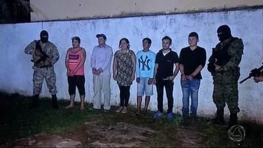 Presos sequestradores de menino de 12 anos morador em Ponta Porã - Garoto foi sequestrado na quinta-feira (17) e liberado na noite do mesmo dia. Empregados da família teriam relação com o crime.