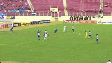 CSA é derrotado pelo Confiança e perde a liderança do Grupo A da Série C - Jogando em Aracaju, Azulão sofre 2 a 0 e perde a invencibilidade de 12 partidas