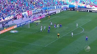 Bahia goleia o Vasco diante de mais de 22 mil torcedores, na Arena Fonte Nova - Um dos destaques da partida foi o jogador colombiano Mendoza, que participou do GE desta segunda-feira (21).