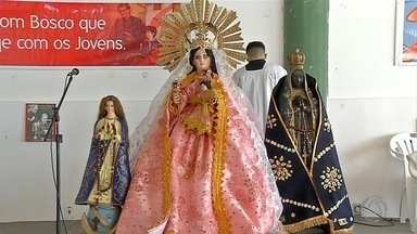 Comunidade boliviana, em Corumbá, comemora Dia de Nossa Senhora de Urkupiña - Comemoração com desfile foi domingo (20). Nossa Senhora de Urkupina é padroeira da Integração Nacional.
