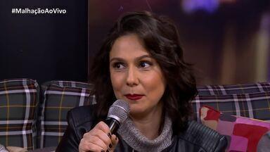 Aline Fanju conta que é a primeira que interpreta uma mãe na TV aberta - Confira o vídeo!