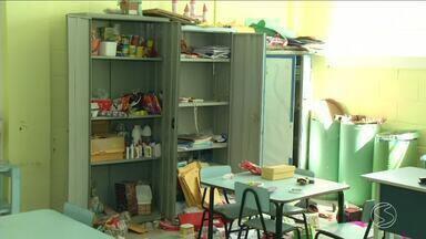 Mais uma escola é alvo de vandalismo em Resende, RJ - Somente neste ano, número de casos deste tipo já chega a seis.