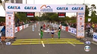 Alagoano conquista 3º lugar na Meia Maratona do Rio de Janeiro - Ele é do município de Paulo Jacinto. Ao todo, 18 mil e 500 pessoas participaram das provas.