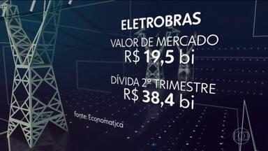 Ministério vai propor ao governo privatização da Eletrobras - Estatal administra geradoras e distribuidoras de energia no Brasil. Justiça suspendeu o leilão de quatro usinas da Cemig, marcado para setembro.