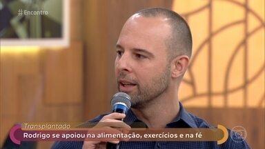 Transplantado se inspirou em exemplo que viu no 'Encontro' - Rodrigo participou dos jogos olímpicos para transplantados na Espanha. Ele conversa com Fátima sobre suas motivações e mostra as medalhas que conquistou na competição
