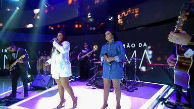Maiara e Maraísa cantam trecho de 'Como Nossos Pais' - Veja!