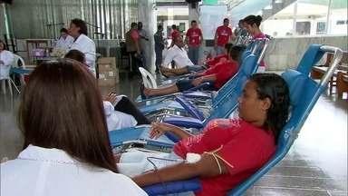 Abreu e Lima recebe evento do Hemope para doação de sangue - Para doar sangue, é preciso ter entre 16 e 69 anos e apresentar boas condições de saúde.