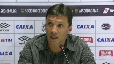 Vasco fica sem Luis Fabiano que fará cirurgia no joelho e apresenta Zé Ricardo - Vasco fica sem Luis Fabiano que fará cirurgia no joelho e apresenta Zé Ricardo