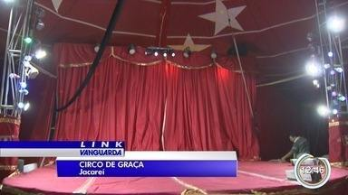 Jacareí tem circo de graça - Projeto é de uma família da cidade.