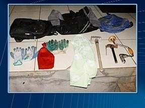 Bandidos arrombam casa lotérica em Panorama - Policiais militares surpreenderam os criminosos.