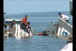 Buscas por vítimas de naufrágio chegam ao fim em Porto de Moz - Buscas por vítimas de naufrágio chegam ao fim em Porto de Moz