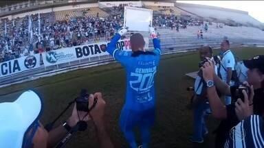 Paredão do Confiança, Genivaldo terá reencontro com Botafogo-PB - Goleiro proletário fez mais de 200 jogos com Belo.