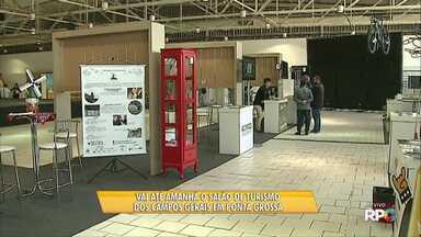 Vai até amanhã o Salão de Turismo dos Campos Gerais em Ponta Grossa - O evento reúne várias atrações pra que todo mundo possa conhecer um pouco mais da nossa região. A entrada é de graça.