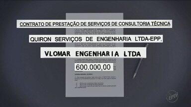 Operação Sevandija aponta que ex-chefe do Daerp recebeu propina em contrato milionário - Documentos apreendidos reforçam a suspeita de que Marco Antonio dos Santos ficou com parte do valor acordado entre a autarquia e a Aegea.