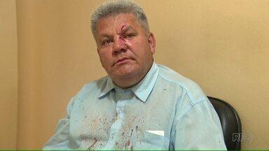 Motorista do transporte coletivo é agredido por adolescente em Maringá - Tudo aconteceu porque o menor teria embarcado no ônibus errado.