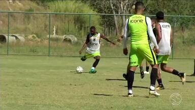 Voltaço treina para jogo importante pela Série C do Brasileiro - Time enfrenta o Mogi Mirim. Equipe precisa da vitória para se manter no G4.