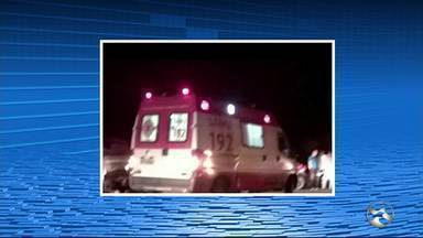 Acidente deixa uma pessoa ferida em Santa Cruz do Capibaribe - Passageiros seguiam para um culto evangélico