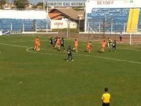 Osvaldo Cruz vence jogo contra o Manthiqueira - Partida foi válida pela Segundona do Paulista.