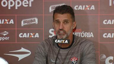 Mancini fala sobre a estratégia do Vitória para o jogo contra o Coritiba - Confira as notícias do rubro-negro baiano.