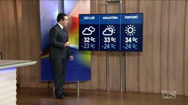 Veja a previsão do tempo nesta segunda-feira (28) no MA - Confira como deve ficar o tempo e a temperatura em São Luís e no Maranhão.
