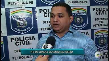 Mais de 3 mil pessoas foram mortas, em Pernambuco, durante o primeiro semestre de 2017 - No Sertão, pelo menos sete assassinatos foram registrados só neste domingo (27).