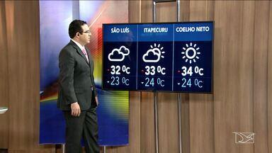 Veja a previsão do tempo nesta terça-feira (29) no MA - Confira como deve ficar o tempo e a temperatura em São Luís e no Maranhão.