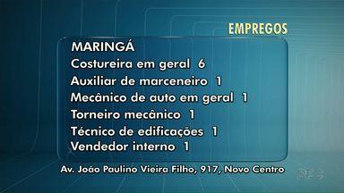 Agência do Trabalhador de Maringá tem seis vagas para costureira - Veja outras vagas abertas em agências de cidades da região.