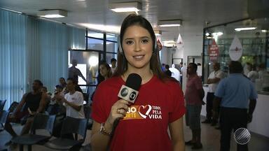 #GETodosPela Vida: GE faz campanha para incentivar cadastro de doadores de medula óssea - Cantor Levi Lima participou do programa nesta terça (29).