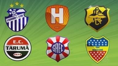 FAF confirma seis times para a disputa da Série B do Amazonense - Tarumã, São Raimundo, Sul América, Holanda, CDC Manicoré e Cliper confirmaram presença. Competição deve iniciar em novembro.