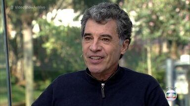 Paulo Betti revisita carreira no 'Meu Vídeo é um Show' - Ator estreou na TV Globo em 1984 contracenando com um robô e relembra cenas marcantes de sua trajetória
