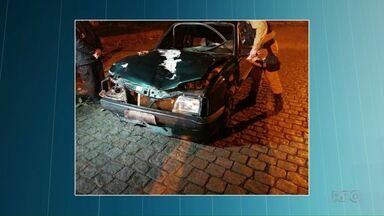 Adolescente que atropelou três mulheres se apresenta à Polícia - Acidente foi em Campo Largo.