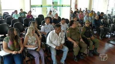 Reunião entre órgãos de segurança pública e Prefeitura de Santarém discute o Sairé 2017 - A festa do Sairé acontecerá de 21 a 25 de setembro na vila balneária de Alter do Chão.