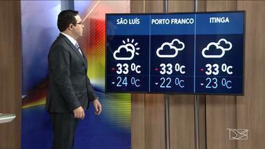 Veja a previsão do tempo nesta quarta-feira (30) no MA - Confira como deve ficar o tempo e a temperatura em São Luís e no Maranhão.