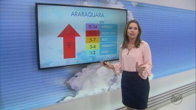 Veja como fica o tempo em São Carlos e região nesta quarta-feira - Confira a previsão do tempo para São Carlos e região nesta quarta-feira (30).
