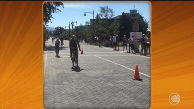 Piauiense volta do Canadá após disputar Campeonato Mundial de Longa Distância - Piauiense volta do Canadá após disputar Campeonato Mundial de Longa Distância