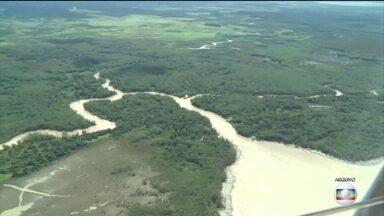Justiça Federal suspende o decreto que acaba com a reserva nacional na Amazônia - A Justiça Federal suspendeu o decreto que extingue a Reserva Nacional do Cobre e Associados, que fica na divisa entre o Amapá e o Pará.