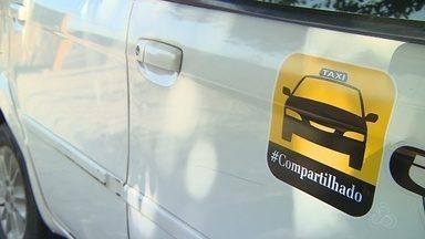 Taxistas estudam serviço compartilhado em Manaus - Categoria quer atrair clientes e manter concorrência com Uber