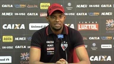 Goleiro Marcos comenta grande atuação contra o Corinthians - Jogador que teve oportunidade e foi muito bem em São Paulo e diz que estava preparado.