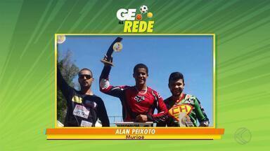 GE na Rede goleiro em Santa Bárbara, time estreante em Lima Duarte e bicicross de Muriaé - Diogo foi eleito melhor goleiro de futsal de Santa Bárbara do Tugúrio. Em lima Duarte, Orvalho FC estreia no Campeonato Municipal. De Muriaé, Alan Peixoto venceu no bicicross em Curvelo