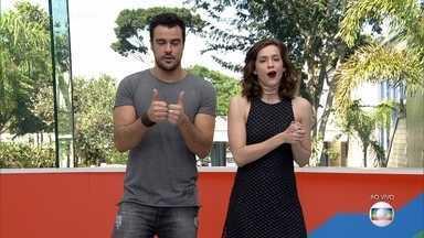 Marília Mendonça faz participação em 'A Força do Querer' - Elenco da novela se diverte durante as gravações do show da cantora