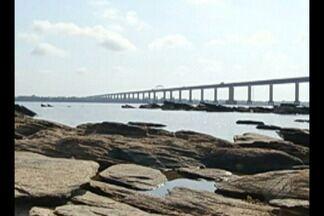 Marabá começa racionamento de água devido ao nível do rio Tocantins - Rio Tocantins está com o nível muito baixo.