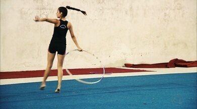 Paraibana é campeã de ginástica rítmica em Aracaju e consegue vaga no Torneio Nacional - Odila Maia foi campeã geral na categoria adulta do Torneio Regional. Aimée Miashyta também conseguiu vaga para a competição nacional