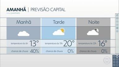 Confira a previsão do tempo para a sexta-feira (1) em São Paulo - Na faixa leste do estado, ainda pode ser um dia instável. No interior, sol e o ar já não deve ficar tão seco, na capital o dia pode começar com névoa, garoa e 13 graus de mínima.