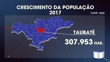 População cresce no Vale e região bragantina acima da média estadual - São 26 mil moradores a mais.